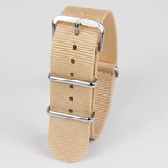 22MM GOLDEN SAND NYLON STRAP