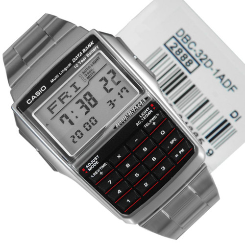 Casio Illuminator Databank DBC-32D-1ADF Watch