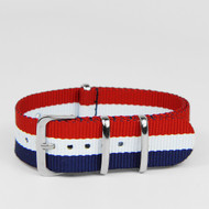 20MM STRAP RED WHITE NAVY