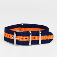 18MM STRAP NAVY ORANGE 18AKOR210