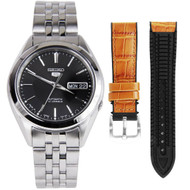 Seiko 5 Automatic Watch SNKL23J1 + extra strap