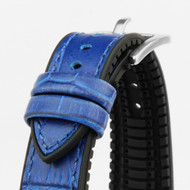 18MM HYBRID WATCH STRAP BLUE