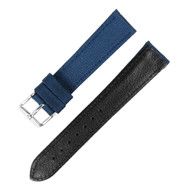 18MM BLUE NYLON WATCH STRAP