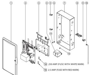 Find An Overhead Door Part From A Parts Diagrams Overhead Door Commercial Operator Parts