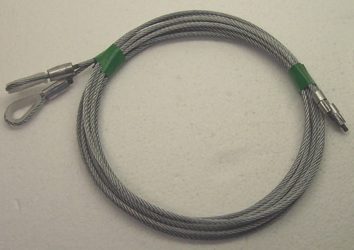 Cable Heavy Duty Torsion 8ft Tall Door Overhead