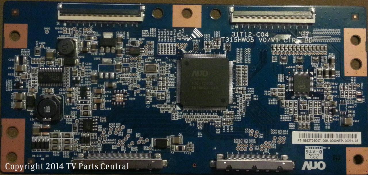 VIZIO M420NV T-CON CONTROL BOARD T315HW05 V0//V1