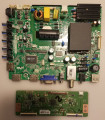 Sanyo 02-SHS39B-C008000 Main Board/Power Supply & Vizio/Sanyo/Hitachi 6871L-3210F (6870C-0438A) T-Con Board