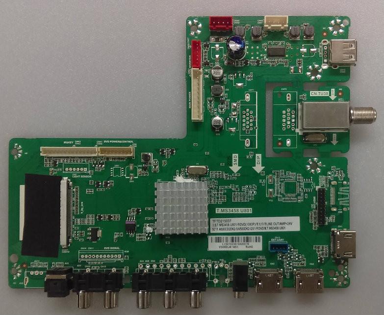 GPX TDU5045B Main Board V500DJ4-QS1 L15072235 Consumer Electronics ...