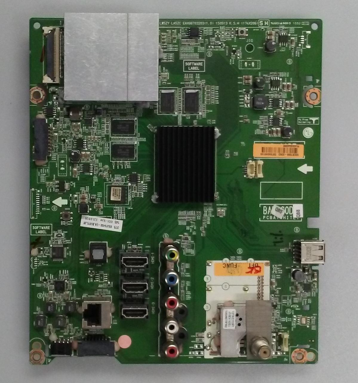 LG EBT64049103 Main Board for 65UF6450-UA BUSYLJR