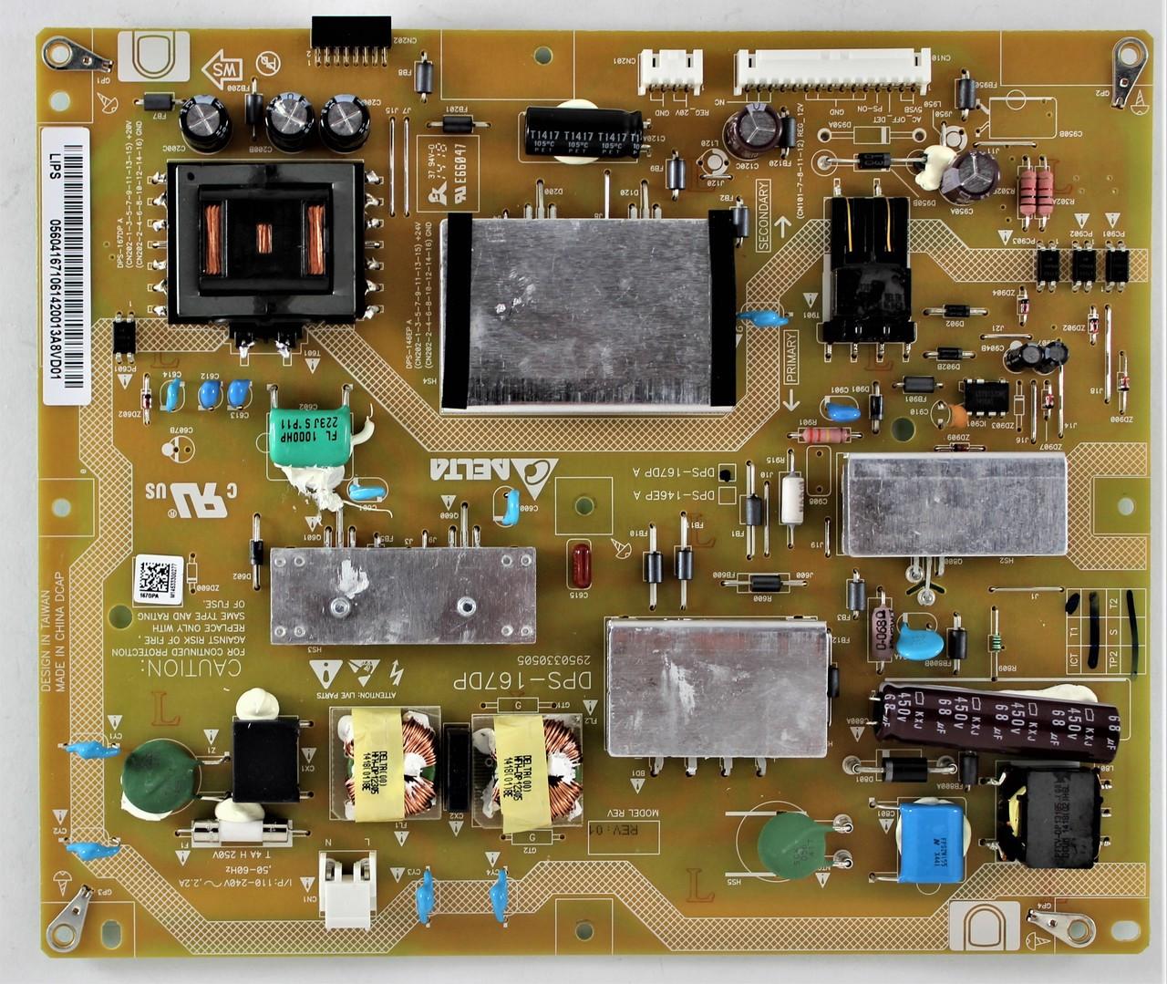 Vizio 056 04167 1061 Power Supply Board for E550I-B2 E550I-B2E