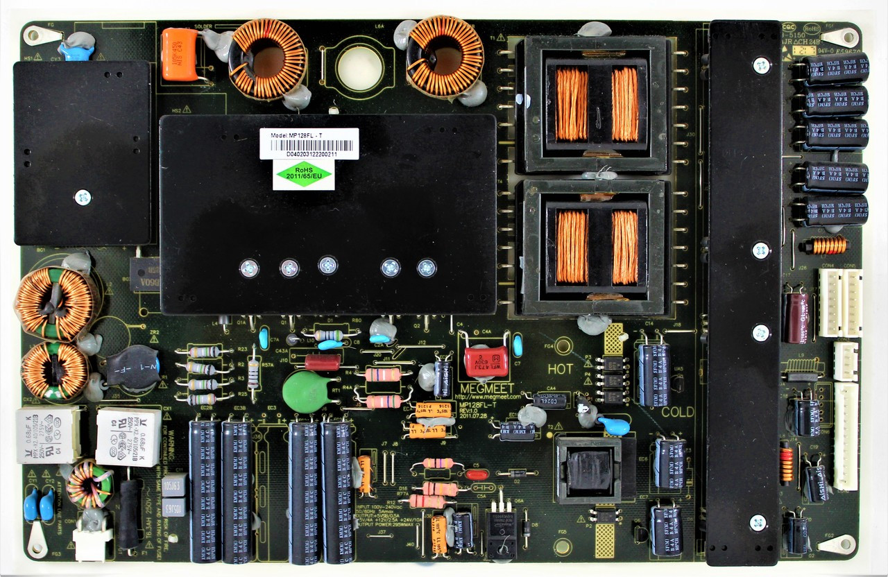 Coby MP128FL-T Power Supply for LEDTV5028