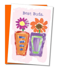 """Best Buds"" Friendship Card"
