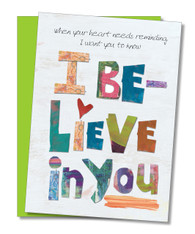 """I Believe In You"" Encouragement Card"
