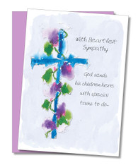"""Gods Children"" Sympathy Card"