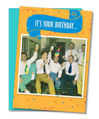 """5 O'Clock Somewhere"" Birthday Card"
