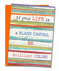 """Be Brilliant"" Congratulations Card"