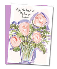 """Sweet Memories to Comfort You"" Sympathy Card"