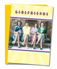 """Girlfriends"" Friendship Card"
