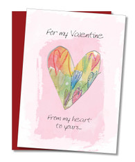"""My Heart to Yours"" Valentine's Day Card"