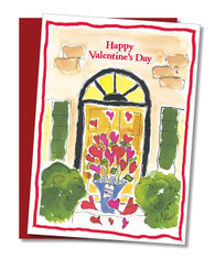 """Delivering Love"" Valentine's Card"