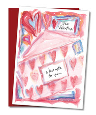 """A Love Note"" Valentine's Card"