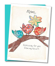 """From My Heart"" Mother's Day Card"