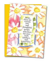 """""""You Bless Our Lives"""" Mother's Day Card"""
