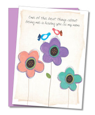 """Best Thing, Best Mom"" Mother's Day Card"