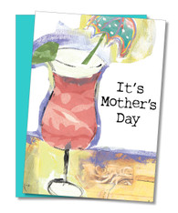 """Chill and Refill"" Mother's Day Card"