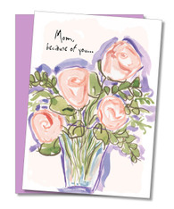 """I Feel So Loved"" Mother's Day Card"