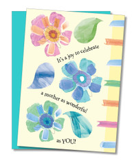 """Celebrate a Wonderful Mother"" Mother's Day Card"