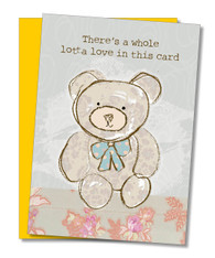 """A Whole Lotta Love"" Mother's Day Card"