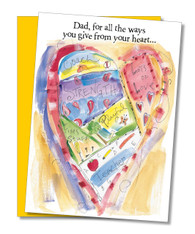 """All the Ways You Give"" Father's Day Card"