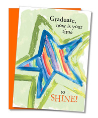 """Your Time to Shine"" Graduation Day Card"