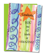 """All Kinds of Amazing"" Graduation Day Card"
