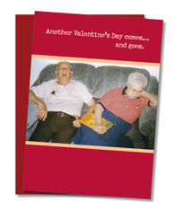 """Comes and Goes"" Valentine's Card"