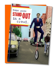 """Some Guys Stand Out"" Father's Day Card"