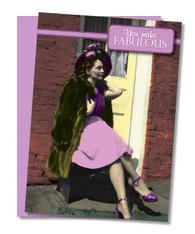 """Make Fabulous Look Easy"" Mother's Day Card"