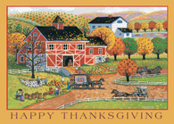 Boxed Thanksgiving Card FRS921