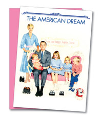 """American Dream"" Birthday Card"