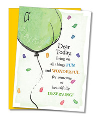 """All Things Fun and Wonderful"" Birthday Card"