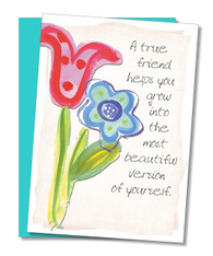 """A True Friend"" Friendship Card"
