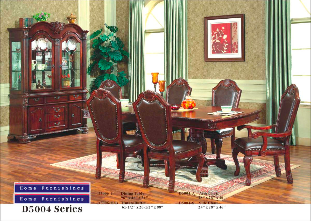 Awe Inspiring Mfd5004 Nevaeh Dark Brown Cappuccino Solid Wood Bonded Leather 7 Piece Dining Room Set Download Free Architecture Designs Sospemadebymaigaardcom