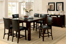 FA3062PT - MYA DARK CHERRY 7 PIECE COUNTER HEIGHT DINING