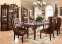 AC60075 - Santiago Dark Cherry 7 Piece Set Formal Dining Set