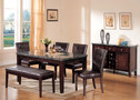 AC07058 - Danville Rectangular 6 Piece Dining Set