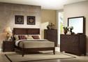 AC19570Q - Madison Espresso Contemporary Bed