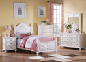 AC30200T - Athena WhiteSolid Wood Youth Bed