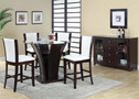AC70510 - Malik Solid Wood  5 Piece Counter Height Dining Set