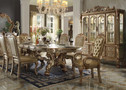 AC63150 - Dresden Gold Solid Wood 7 pc. Dining Set